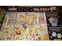 1000 piece de luxe WASGIJ jigsaw Destiny Collection