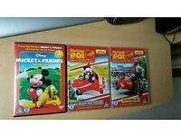 3 × Children's DVDs