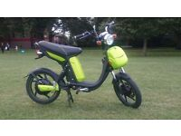 Electric Bike 250W 48V - New Model Indigo!