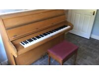 PIANO + Stool - GOOD CONDITION