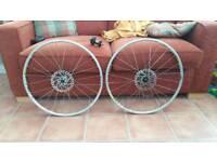"Mavic Cross ride 26"" disc wheelset"