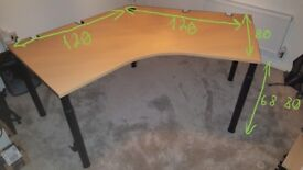 Office table 120°