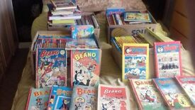 162 beano and dandy annuals