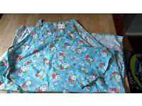 BNWT NEW CATH KIDSTON FLOWER BLUE KITCHEN APRON ON £10.00