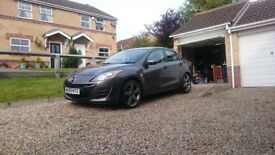Mazda 3 BL 1.6 Diesel 2009 £30 Road tax Salvage cat S