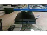 PS4 1TB (2 GAMES) + PANASONIC FULL HD TV + GLASS TABLE