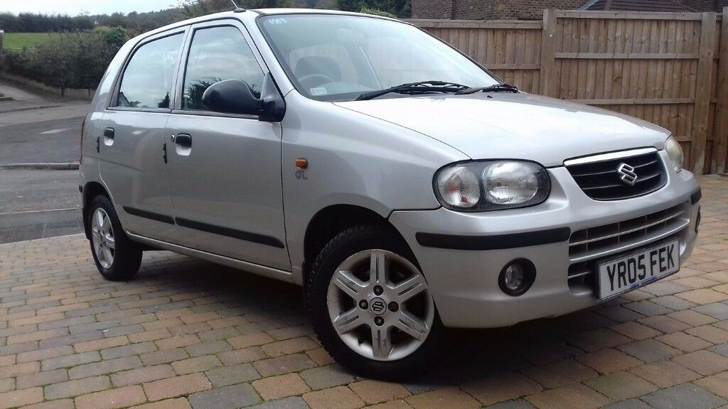 SUZUKI ALTO 1.1 GL. ONLY 45,000 MILES LONG MOT
