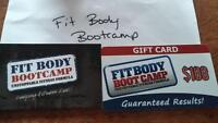 $100 FIT BODY GIFT CARD