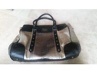 Pauls Boutique Handbag Black and Silver