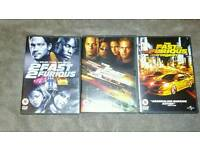 DVD'S fast&furious