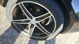 """18"""" wheels n tyres"""