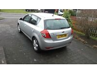 KIA CEED 5 DOOR HATCH, 1.6 DIESEL, 6 SPEED, SILVER, FULL SERVICE HISTORY, EXCELLENT CONDITION