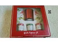 Winter fragrance set