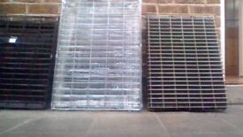 Three dog crates one medium and two a little smaller £15-£20 each