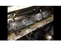 BMW e36 3 series compact headlights