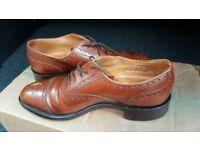 Mens size 6 Jones the bootmaker Brouge shoes