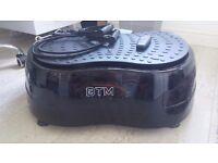 BTM vibrating massage platform 1000w as new