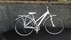Ladies Barracuda Vela 3 Bicycle - White