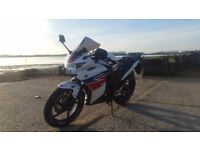 Honda CBR 125R 2014 2 Owners Immaculate