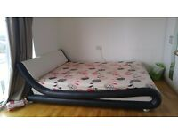 King size bed frame with/without matress