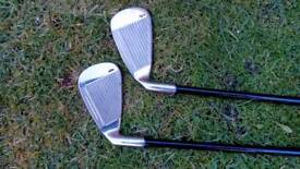 2 Galloway golf clubs X18 one is 3 and the other is 4