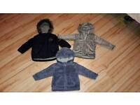 3 boys coats