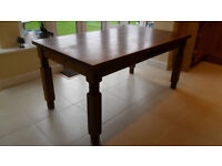 Farmhouse kitchen dining table