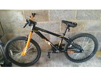 "X RATED EXILE DIRT JUMP BIKE 24"" WHEELS 13"" FRAME EXCELLENT CONDITION"