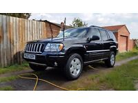 Jeep grand cherokee 2.7 crd light damage, very good condition