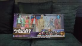 Guardians of the galaxy figure set