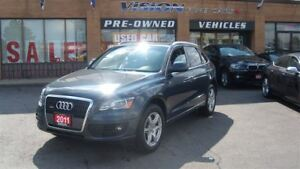 2011 Audi Q5 2.0T Premium Plus (Tiptronic)/PANO SUNROOF/LEATHER