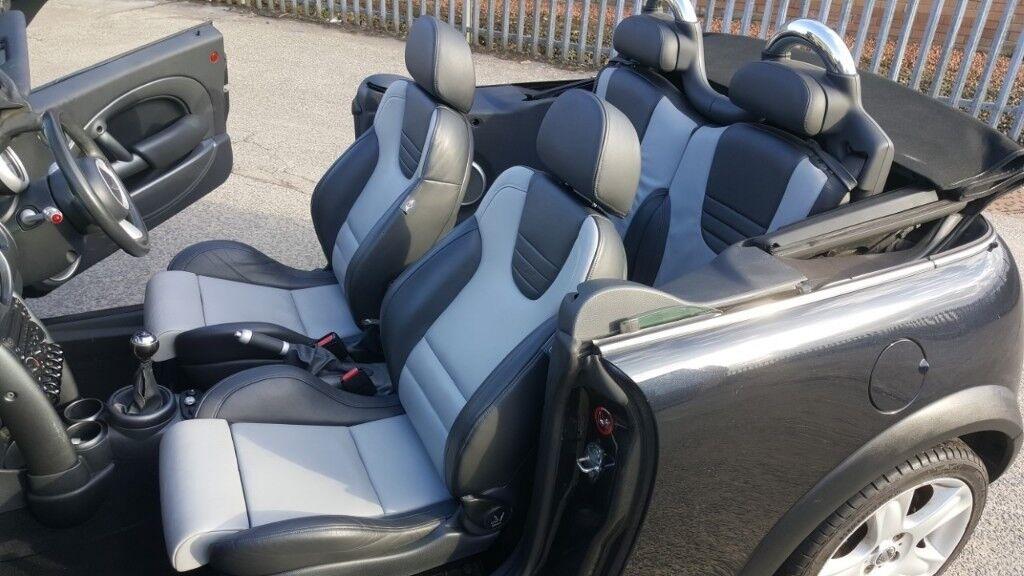 Mini Cooper Convertible Low Miles Rare Recaro Heated Seats Stunning Car 9 Months