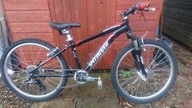 Kids specialized hotrock mountain bike 24 inch