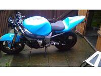 gsxr 600 k1 track bike not r6 full v5