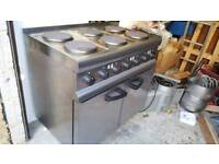 Lincat Silverlink 600 Electric 6 Burner Range ESLR9C 3 Phase