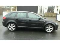 2008 57 AUDI A3 2.0 140 SPORT BACK IN MINT CONDTION DRIVES VERYGOOD