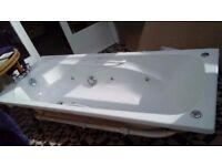 6 jet jacuzzi bath