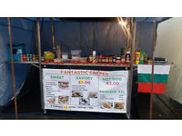 Stainless steel mobile catering retail trolley unit/kiosk/bar