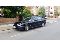 Black Jaguar X-type, sport, in good condition. With brand new breaks, oil recently changed.