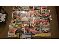 Classic Cars Magazines JOB LOT Popular Restoring Mags