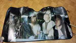 Rare Star wars Millennium sunshade sun shade car auto