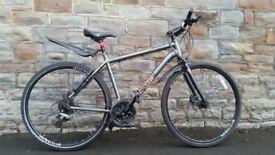 FULLY SERVICED VOODOO MARASA HIBRID WITH HYDRAULIC BRAKES BICYCLE