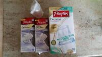 Playtex bottles and/or drop ins