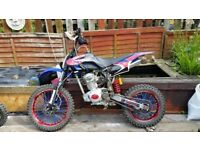 Ghost 200cc pitbike dirtbike fieldbike