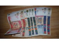 Cuba holiday money CUC . Collectible as you cannot get it in shops