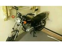 Suzuki gn 125 swap for other 125 road legal