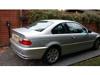 BMW 318 ci 1.9, low mileage, great runner, 3 owners, reluctant sale,