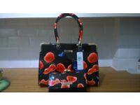 Black Handbag and Purse