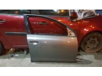 2010 VW GOLF MK6 OFF SIDE FRONT RIGHT DRIVER DOOR OSF BARE SHELL PANEL GREY A7T GUJ £300