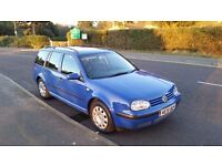 VW Golf Estate 188000 Miles Good condition very reliable